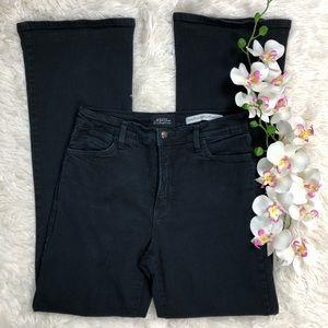 NYDJ Sz 6 #759NHN Black Denim Pocket Bling Jeans